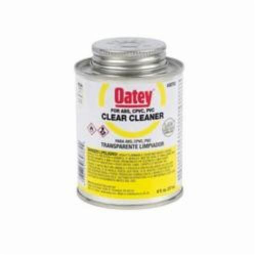 Oatey® 30782 Plastic Cleaner, 8 oz Can, Clear