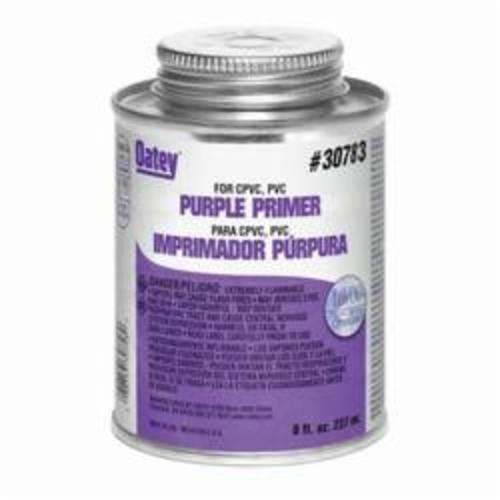 Oatey® 30783 All Purpose Pipe Primer/Cleaner, 8 oz Pail, Purple