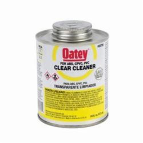 Oatey® 30795 Plastic Cleaner, 16 oz Can, Clear
