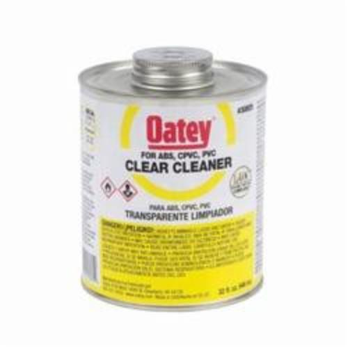 Oatey® 30805 Plastic Cleaner, 32 oz Container, Clear