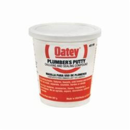 Oatey® 31166 Plumber's Putty, 14 oz, Solid, Off-White, 1.87