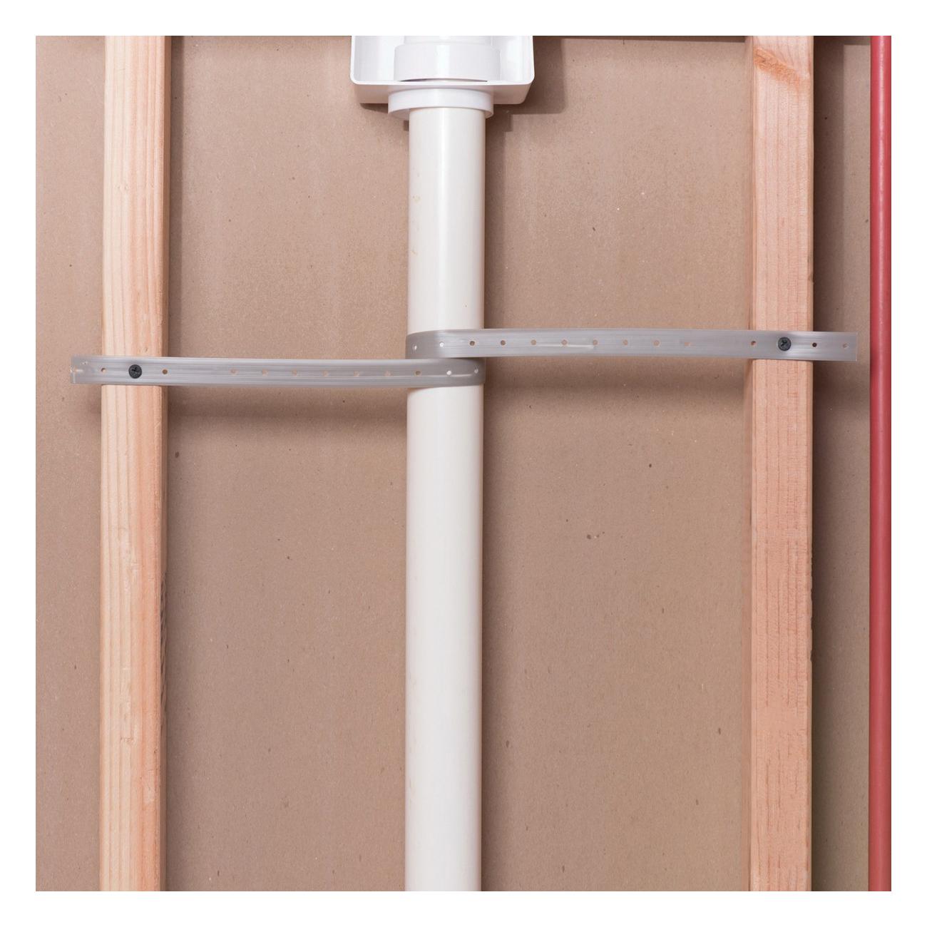 Oatey® 33927 Hanger Strap, 1/8 in Dia Hole, 100 ft L x 3/4 in W, Domestic