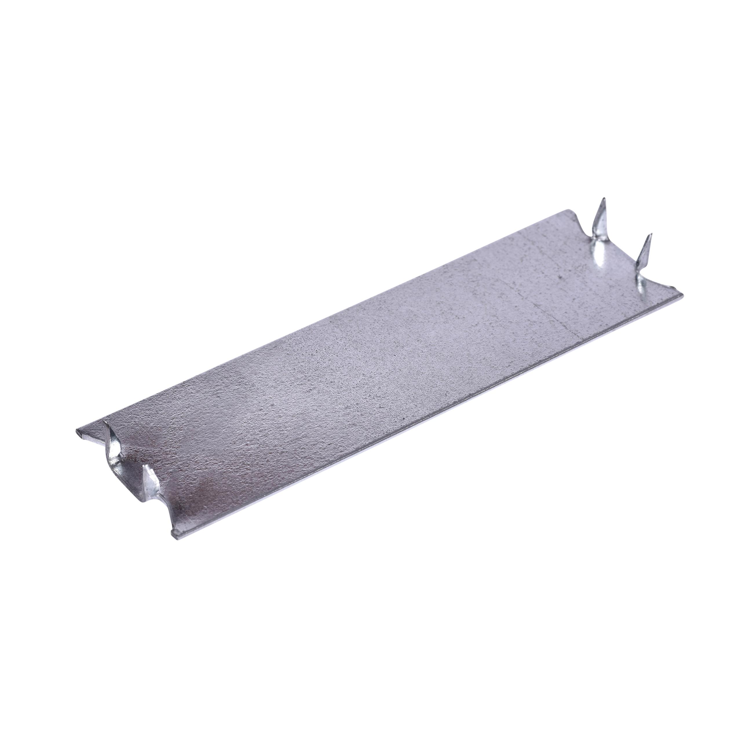 Oatey® 33931 Self-Nailing Stud Guard, 5 in L x 1-1/2 in W, Steel, Galvanized, Domestic