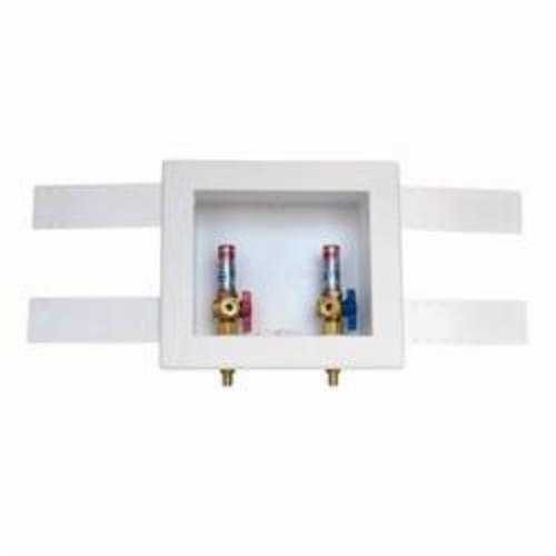 Oatey® 38542 Quadtro® Outlet Box, For Use With Washing Machine, Polystyrene