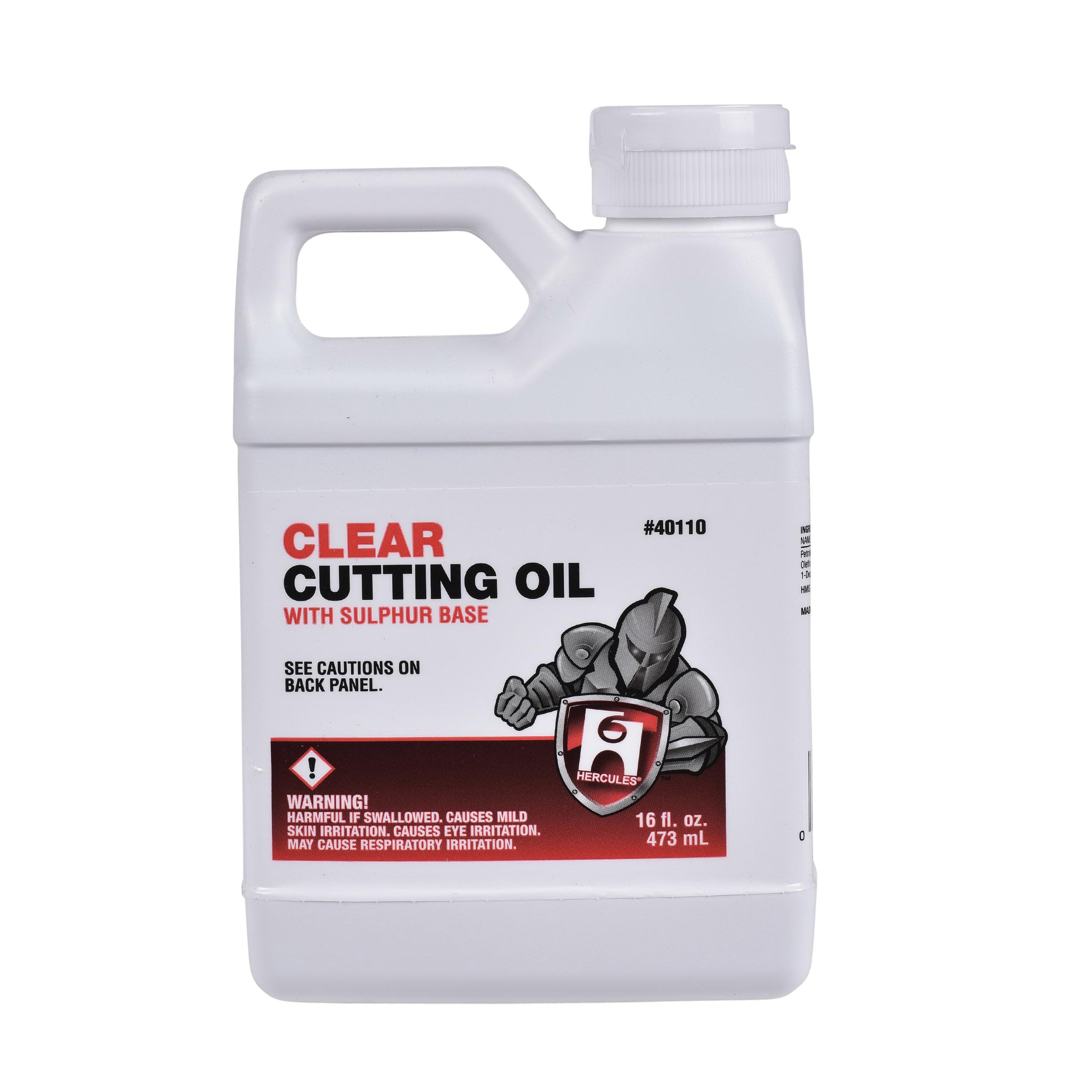 Hercules® 40110 Cutting Oil, 1 pt, Liquid, Dark Amber, Slight Hydrocarbon