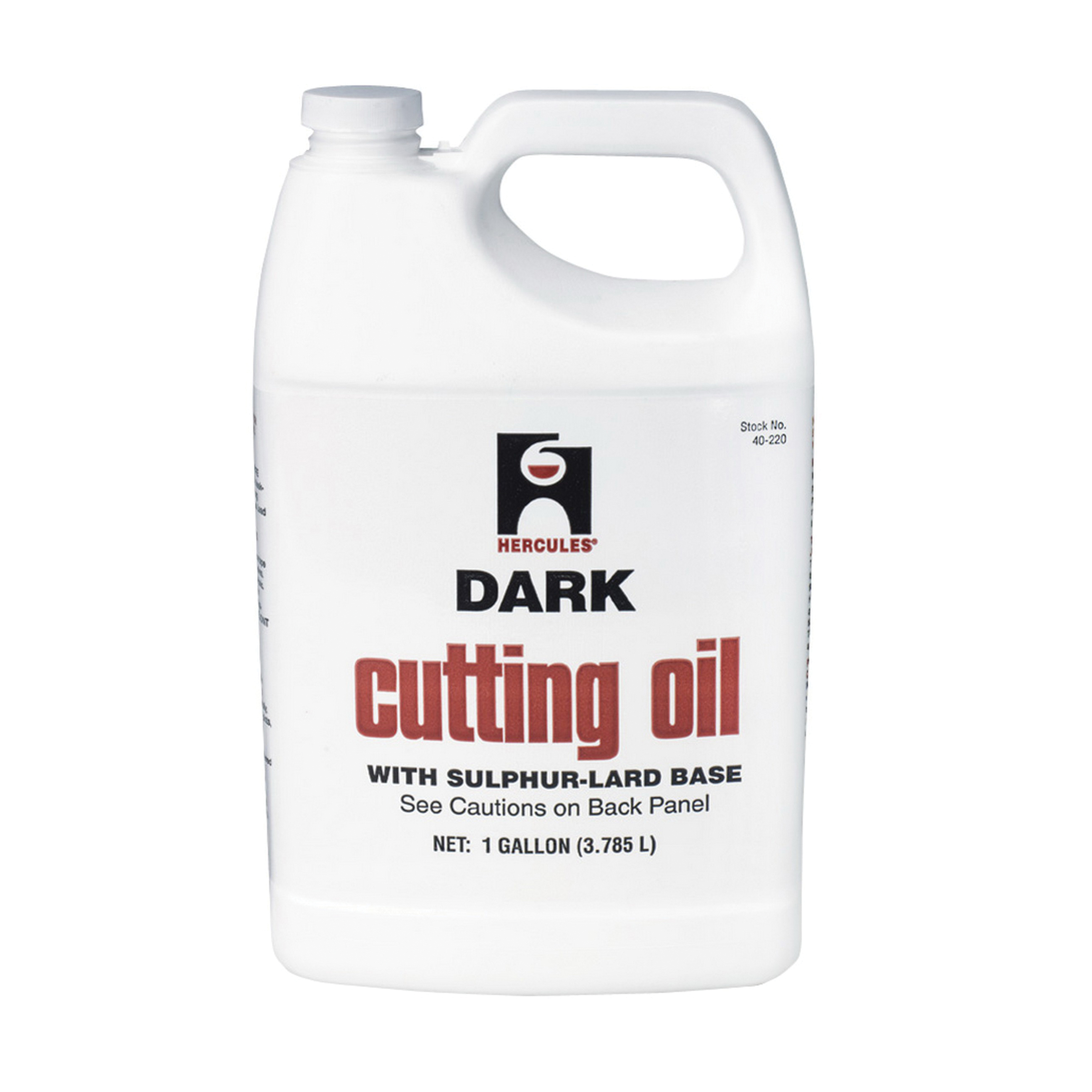 Hercules® 40220 Cutting Oil, 1 gal, Amber Liquid, Dark Brownish, Petroleum