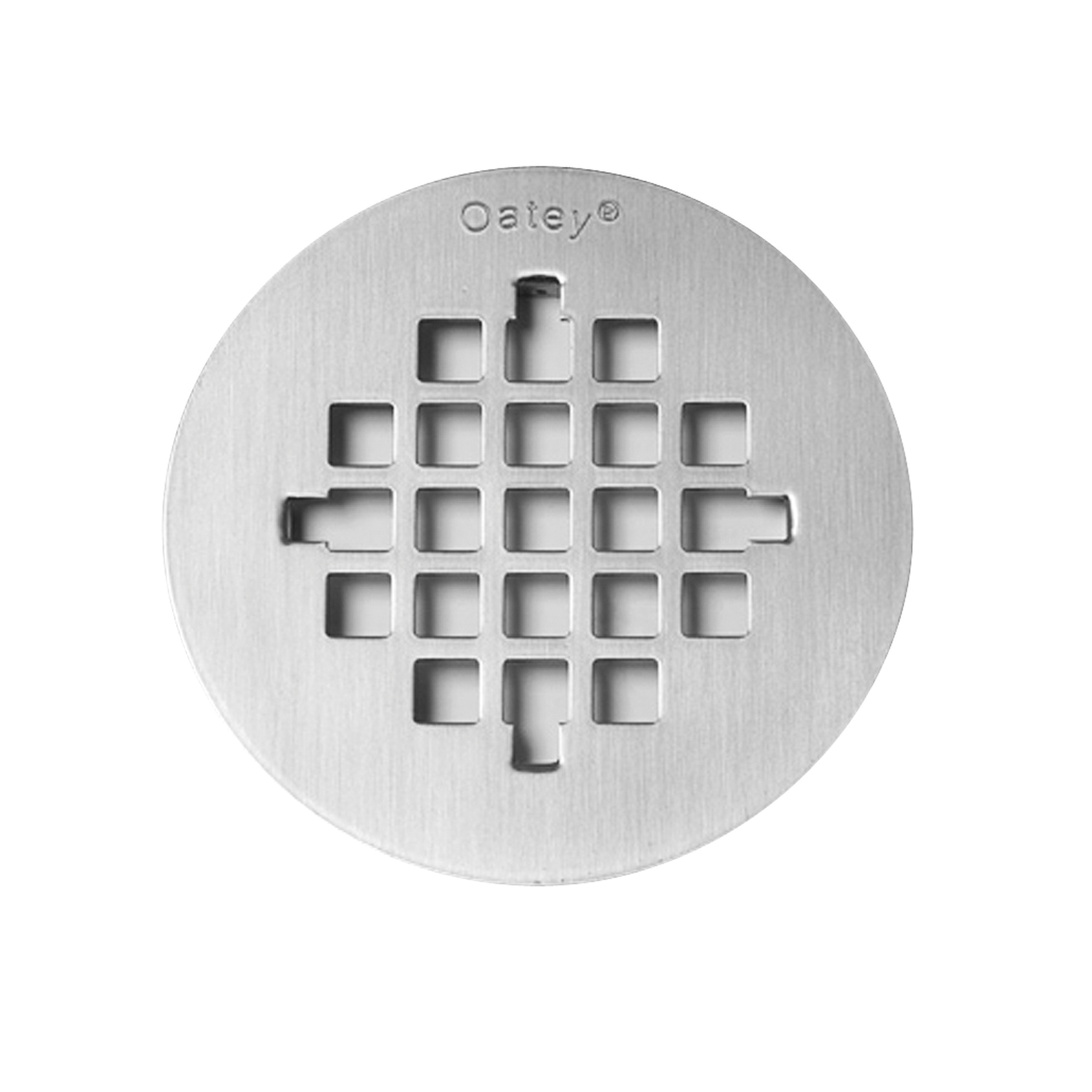 Oatey® 42138 Round Snap-Tite Strainer, 4-1/4 in Nominal, Stainless Steel