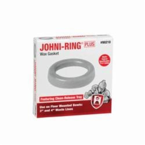 Hercules® 90210 Johni-Ring® Plus Standard Wax Bowl Gasket, For Use With 3 and 4 in Waste Lines, 3 or 4 in, Tan