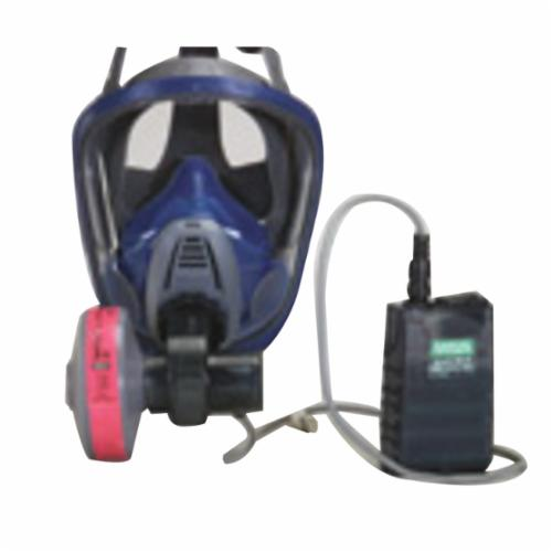 MSA OptimAir® 10034151 Advantage® 3100 Powered Air Purifying Respirator Assembly With Rubber Head Harness, L, NiMh Battery, Resists: Scratch, OSHA, NIOSH, ACGIH, AIHA Approved