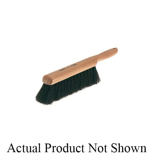 Osborn 0005231200 Medium Sweeping Floor Broom, 3 in L Trim, Black Tampico Bristle