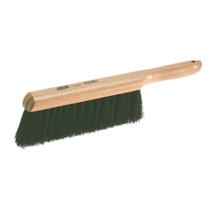 Osborn 0005438800 V-Groove Scratch Brush, 1-1/8 in W Block, 13-3/4 in OAL, 1-1/2 in Stainless Steel Trim