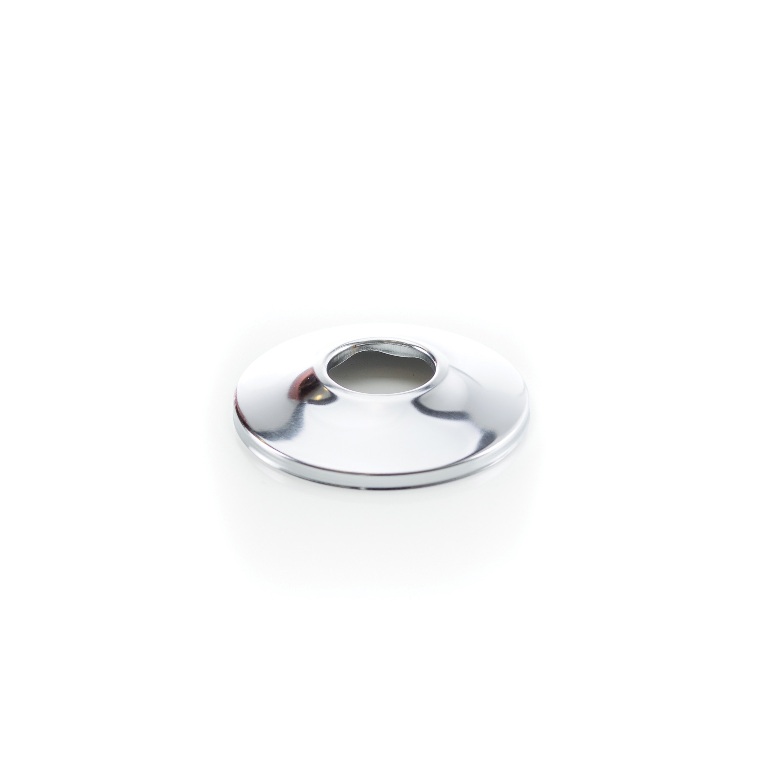 PASCO Sure Grip 1230 Flange, 1/2 in CWT, Steel, Polished Chrome