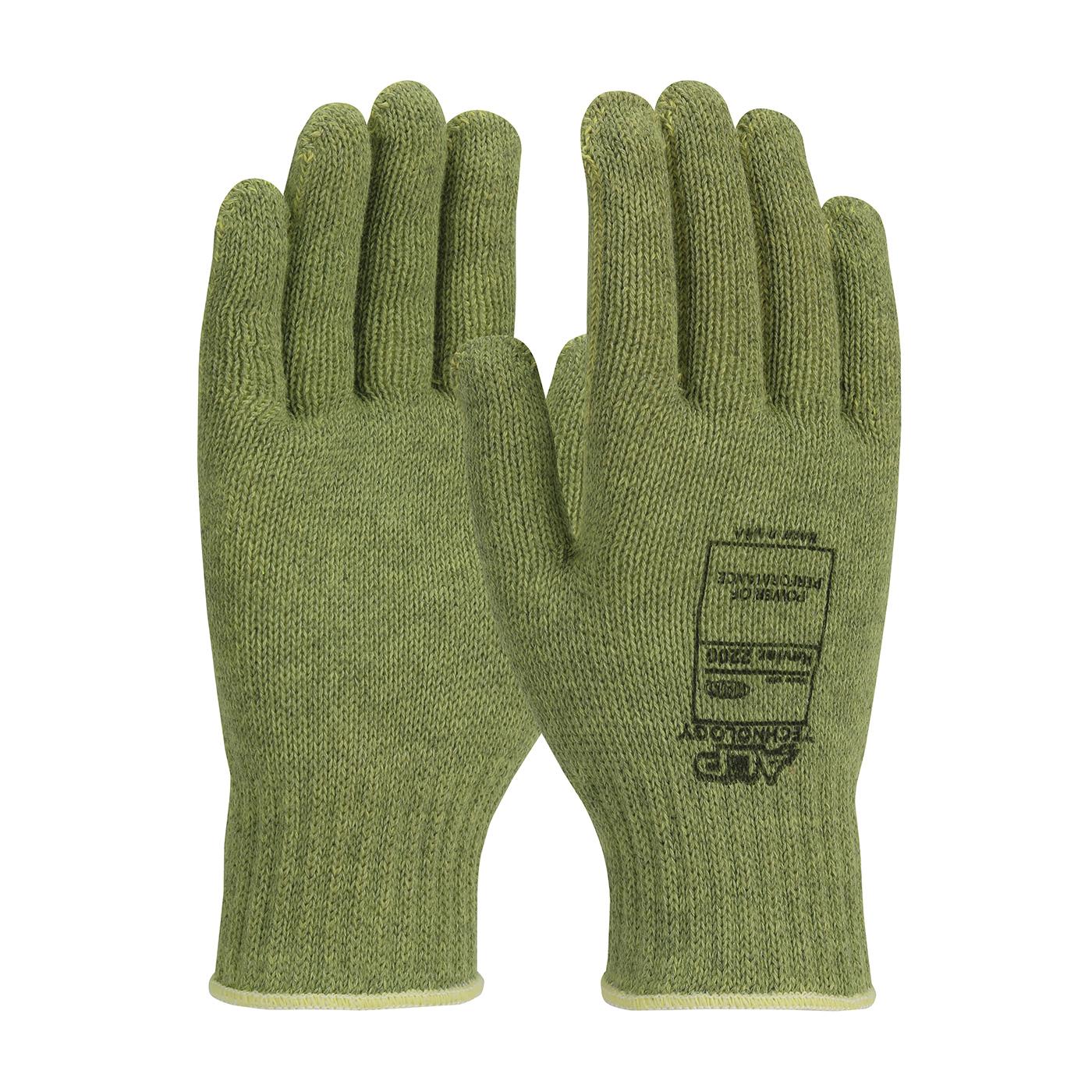 PIP® ACP Technology™ 07-KA710/L Medium Weight Unisex Cut Resistant Gloves, L, ACP/Kevlar®, Elastic/Knit Wrist Cuff, Resists: Abrasion, Cut, Fatigue and Heat, ANSI Cut-Resistance Level: A4