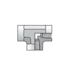 Parker® 1/8 DD-S DD Series Tube to Pipe Elbow, 1/8-27 Nominal, Female NPTF, Steel