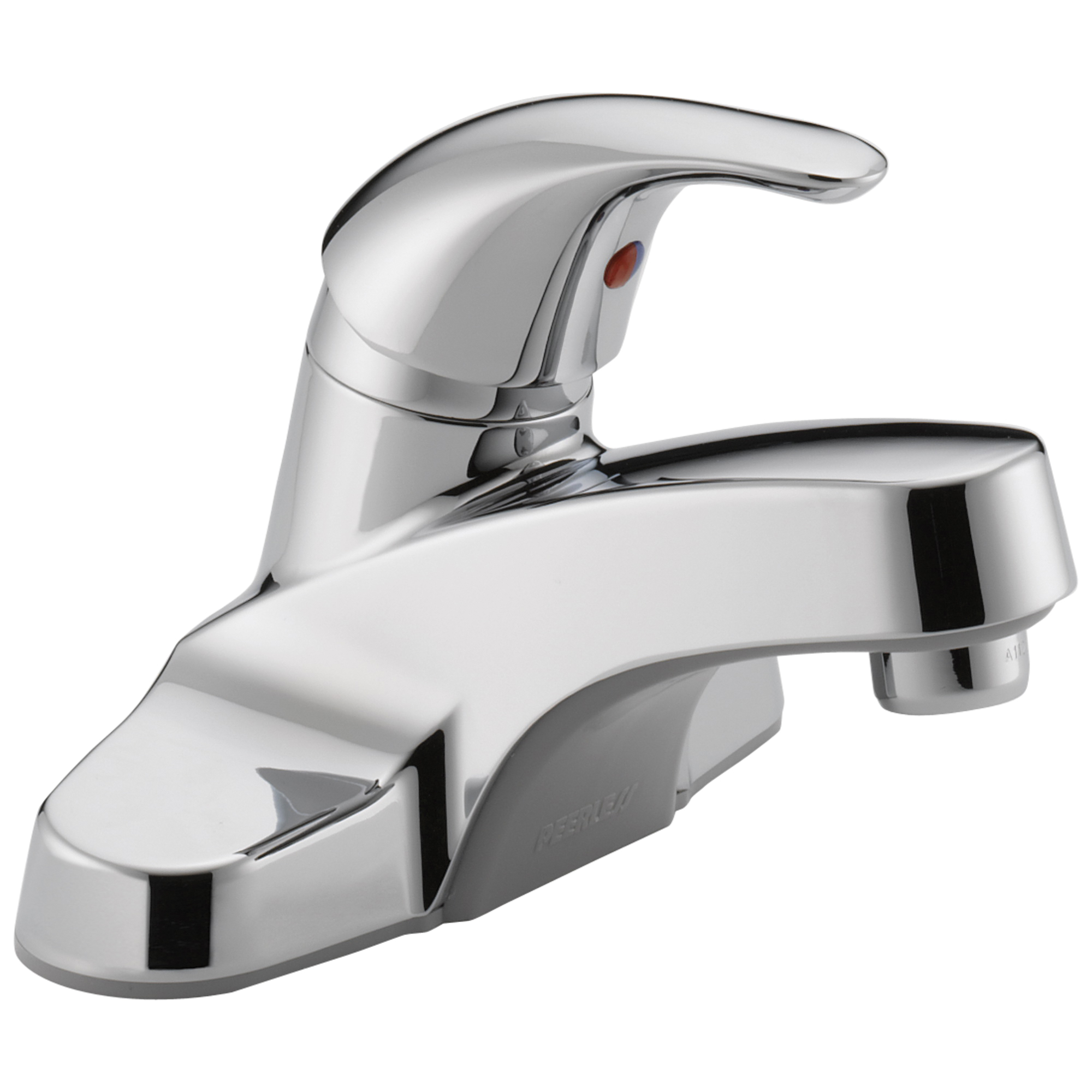 Peerless® P131LF Centerset Lavatory Faucet, Polished Chrome, 1 Handles, 1.2 gpm Flow Rate