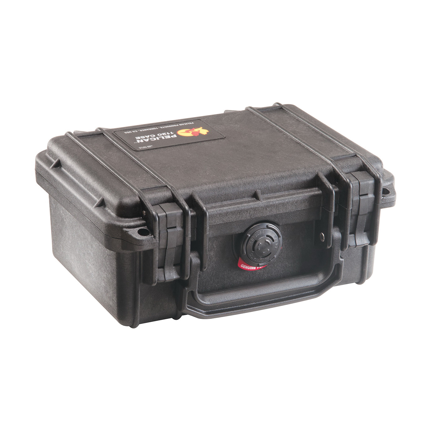 Pelican™ PROTECTOR CASE™ 1060-027-100 Micro Protective Case With Lid Liner and Foam Insert, 8-1/4 in L x 4-1/4 in W x 2-1/4 in H, 0.05 cu-ft, Polycarbonate