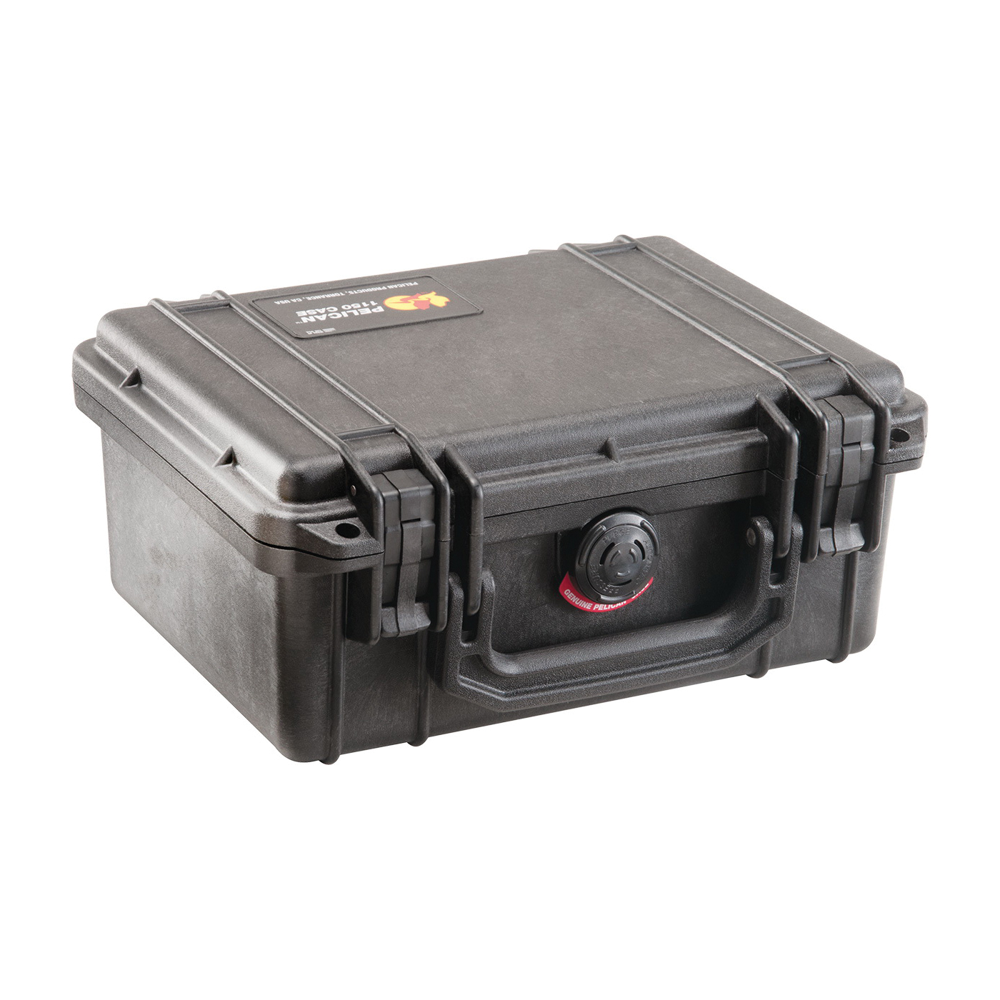 Pelican™ PROTECTOR CASE™ 1120-000-150 Small Protective Case With Lid Liner and Foam, 7.46 in L x 4.96 in W x 3.33 in H, 0.01 cu-ft, Polypropylene