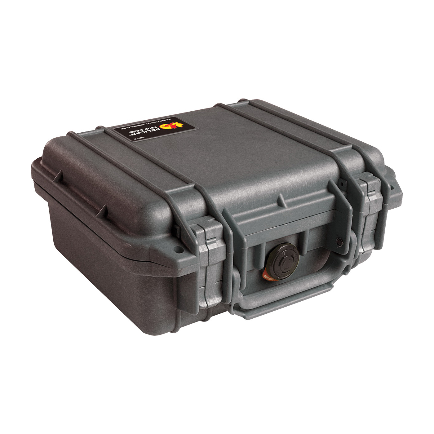 Pelican™ PROTECTOR CASE™ 1120-000-110 Small Protective Case With Lid Liner and Foam, 7.46 in L x 4.96 in W x 3.33 in H, 0.01 cu-ft, Polypropylene