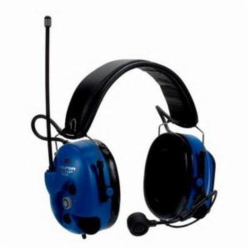 Peltor™ 046719-47702 WS™ 100 Communication Headset With Bluetooth® Wireless Technology and Electret Boom Microphone, 20 dB Noise Reduction, Hard Hat Mount, Black