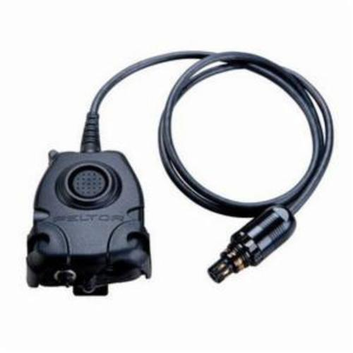 Peltor™ 093045-93312 In-Line Portable Push-To-Talk Adaptor, For Use With Motorola™ Turbo