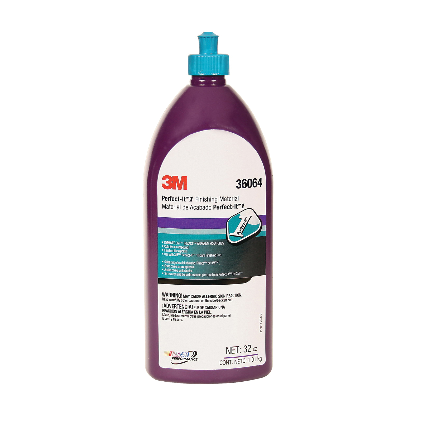 Perfect-It™ 051131-36061 EX Series Rubbing Compound, 1 gal Bottle, Tan