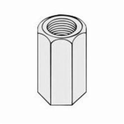 PHD 100 0050PL Standard Rod Coupling, 1/2 in, 1-3/4 in L, Carbon Steel, Plain