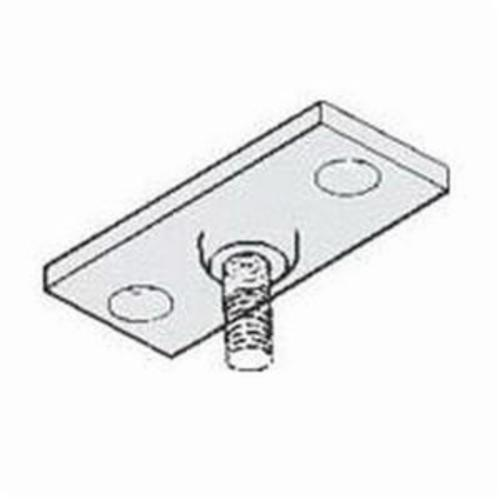 PHD 940 0050PL Ceiling Flange, 1/2 in Thread, 180 lb Load, Malleable Iron, Plain, Domestic