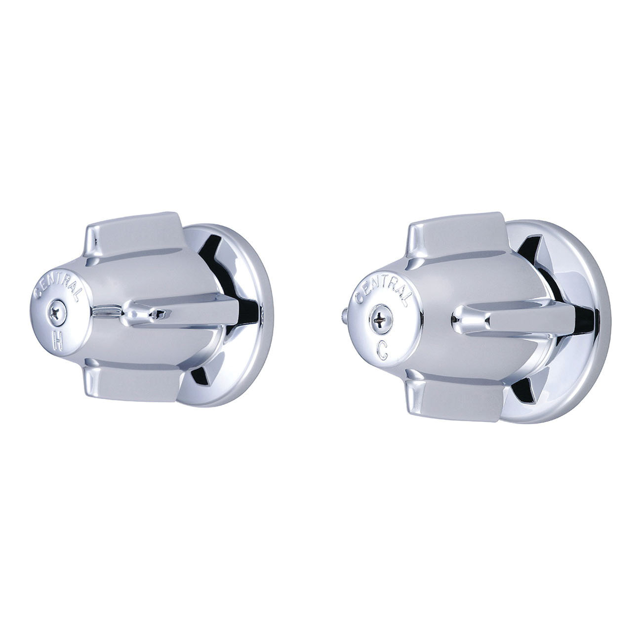 Central Brass 6056 Valve Set, 2.5 gpm Shower, Polished Chrome