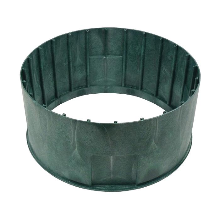 Polylok™ 3008-R12 Drainage Basin Riser, 24 x 12 in, HDPE, Green