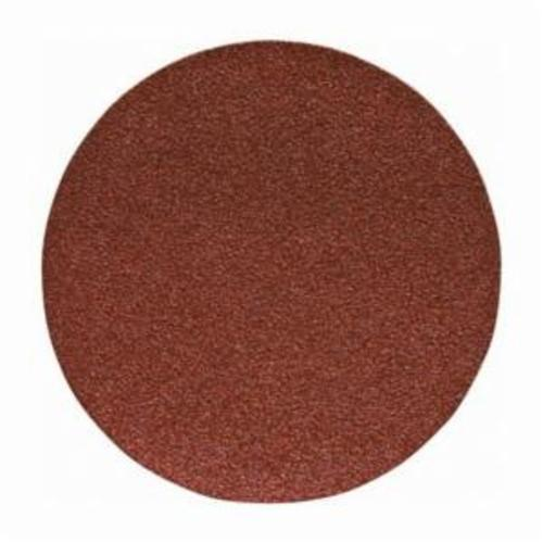 Porter-Cable® 725000625 Flexible PSA Coated Abrasive Disc, 5 in Dia Disc, 60 Grit, Coarse Grade, Aluminum Oxide Abrasive, Paper Backing