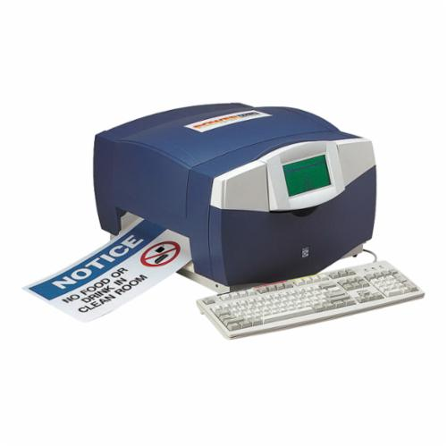 Brady® 134109 MiniMark™ Label Printer With Markware Deluxe Software, Thermal Transfer Print, 3.8 in W Tape