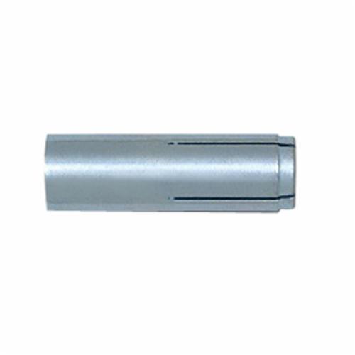 HILTI 433020 Economical Screw Anchor, 1/4 in Dia, 1-1/4 in OAL, Hex/Torx® Head Drive, Carbon Steel