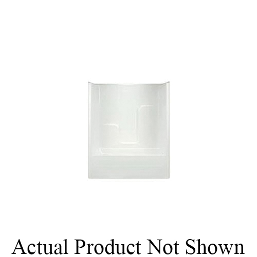 Hamilton Bathware G6063TSLWHT G 6063 TS 1-Piece Tub/Shower With Armorcore, 60 in L x 35-3/4 in W x 76-1/2 in H, White, Domestic