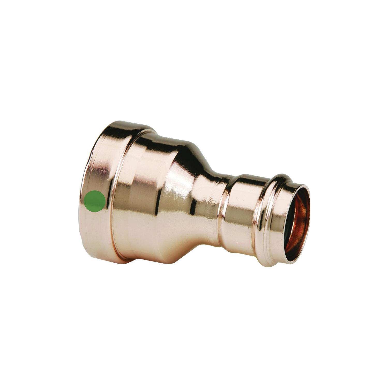 ProPress® XL-C 20720 Pipe Reducer, 4 x 2 in, Press, Copper, Import