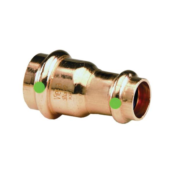 ProPress® 15603 Pipe Reducer, 1 x 1/2 in, Press, Copper, Import