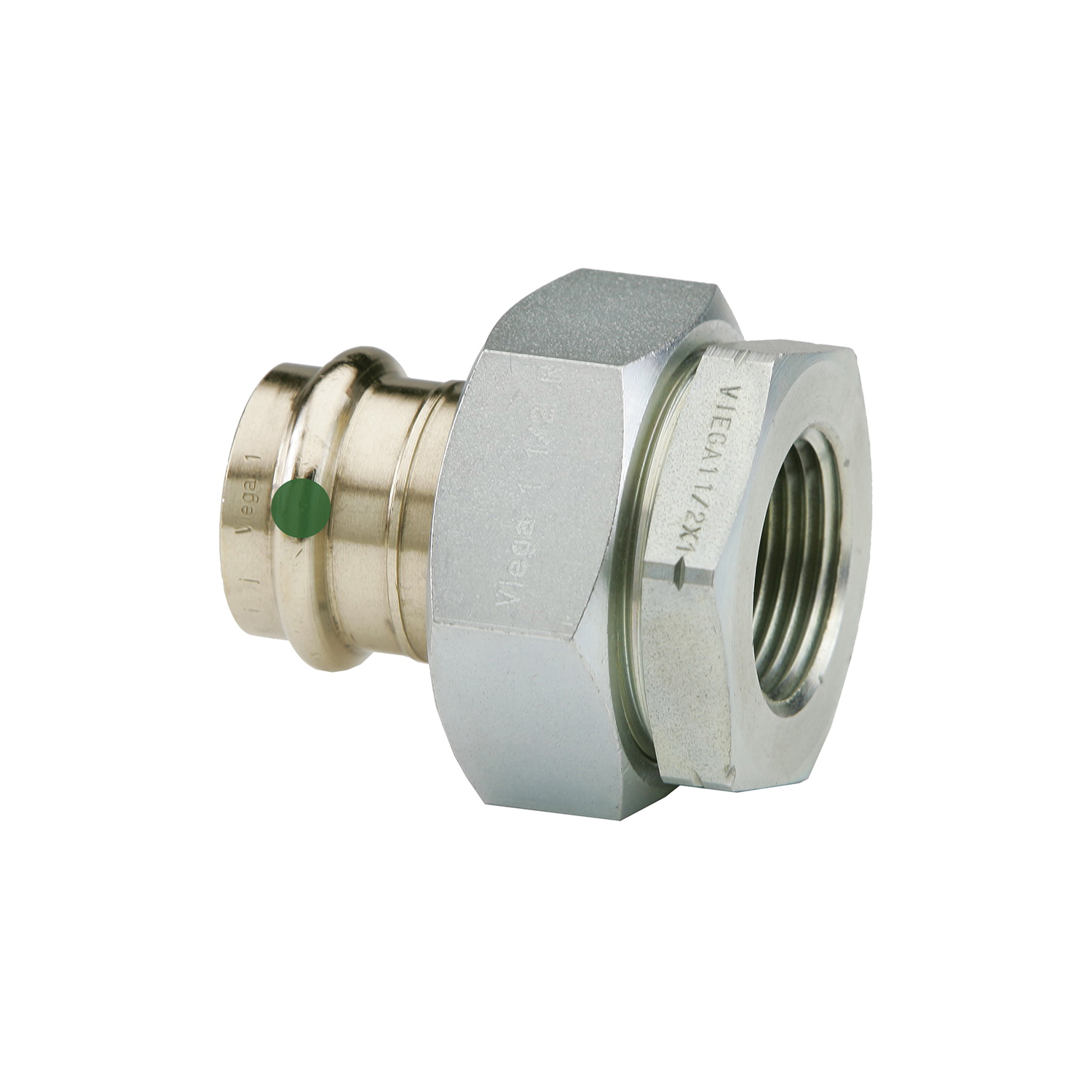 ProPress® 79160 Pipe Dielectric Union, 3/4 in, Press x FNPT, Bronze, Import