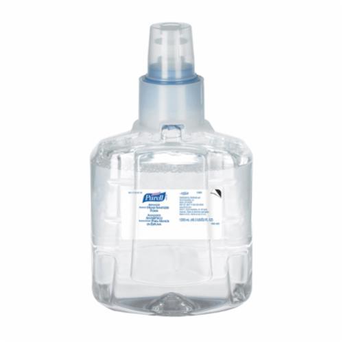 PURELL® LTX-12™ 1904-02 LTX-12™ Hand Sanitizer, 1200 mL Nominal, Dispenser Refill Package, Foam Form, Odorless/Dye Free Odor/Scent, Clear