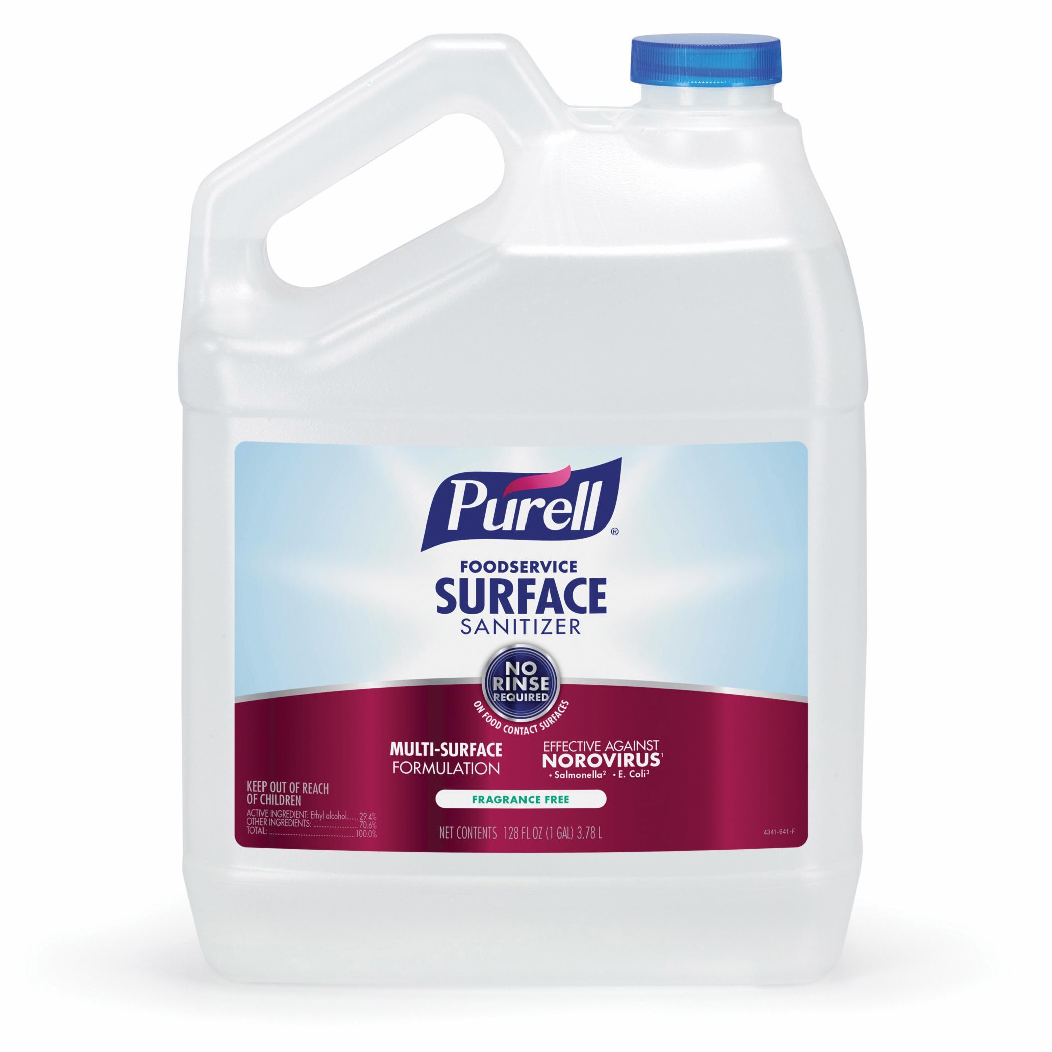 PURELL® 3341-12 Surface Sanitizer, 32 fl-oz Spray Bottle, 12.6 to 12.9, Liquid, Fragrance Free