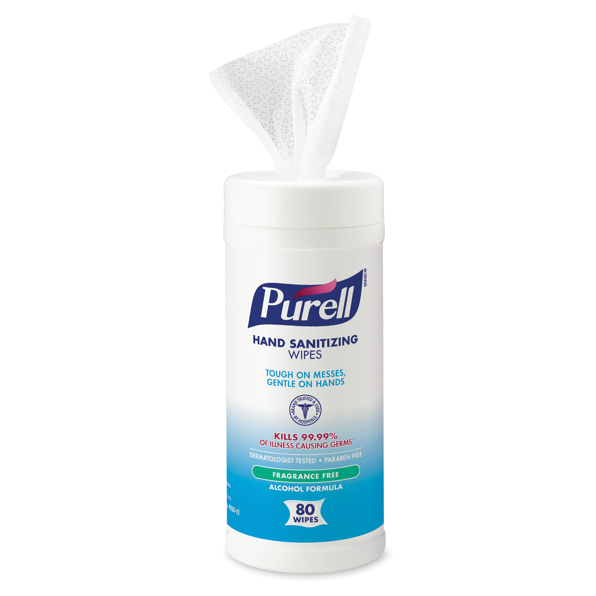 PURELL® 9699-12 APX™ Push Style Dispenser, Glossy, 15 oz Capacity, 4.13 in OAL, Wall Mount, Plastic