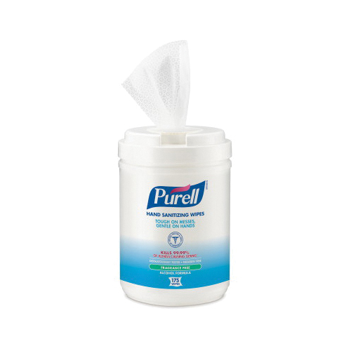 PURELL® 5456-04 TFX™ Hand Sanitizer With Advanced Instant, 1200 mL Nominal, Dispenser Refill Package, Gel Form, Fruity/Odorless Odor/Scent, Clear/Light Blue