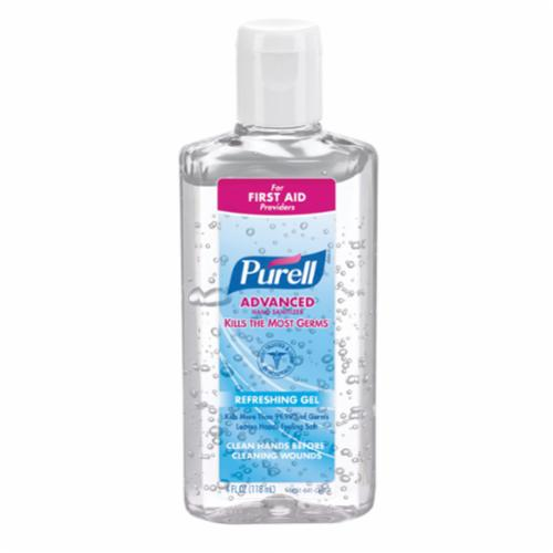 PURELL® 1903-02 Advanced Hand Sanitizer, 1200 mL Nominal, Dispenser Refill Package, Liquid Form, Alcohol Odor/Scent, Clear