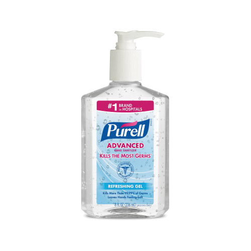 PURELL® 9113-06 General Purpose Hand Sanitizing Wipes, 270 Count Capacity, White