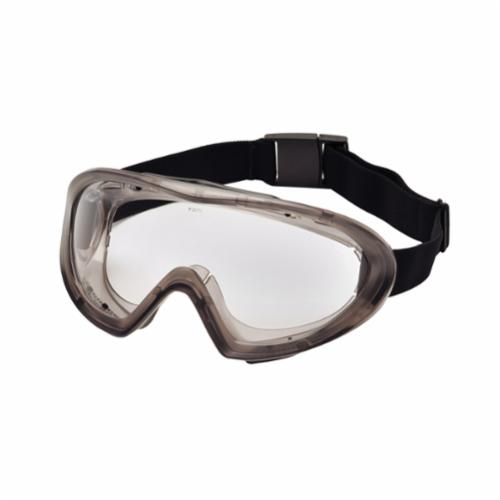 Pyramex® G404T Top Shelf Chemical Splash Goggles With Foam Padding, Anti-Fog/Anti-Scratch Clear Polycarbonate Lens, 99% UV Protection, ANSI Z87.1, CE EN166 CAN/CSA Z94.3-07