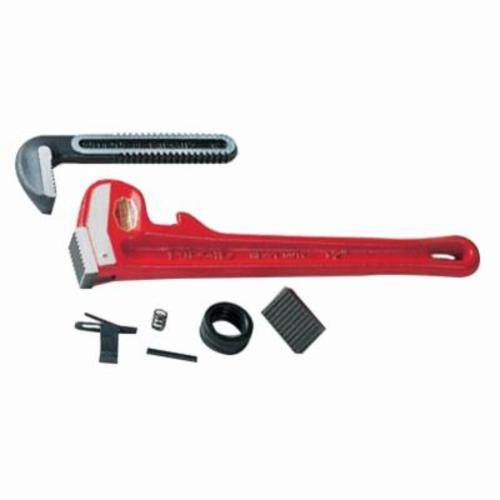 RIDGID® 31120 14 Series Offset Pipe Wrench, 2 in, 14 in OAL, Hook Jaw, Aluminum Handle, Standard Adjustment, Gray