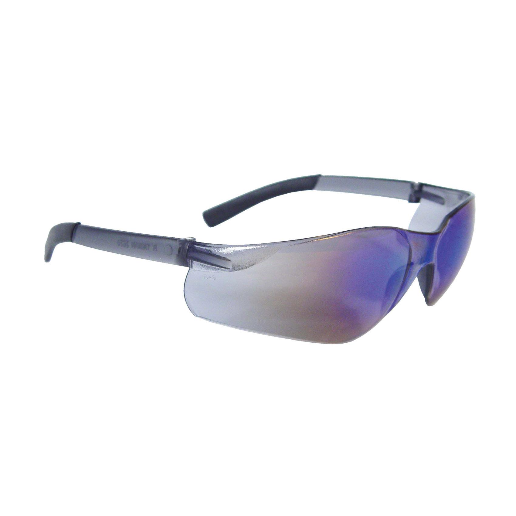 Radians® AT1-40 AT1 Rad-Atac™ Lightweight Safety Eyewear, Hard Coat/Impact Resistant, Amber Lens, Half Framed Frame, Amber, Rubber Frame, Polycarbonate Lens, ANSI Z87.1+, CSA Z94.3