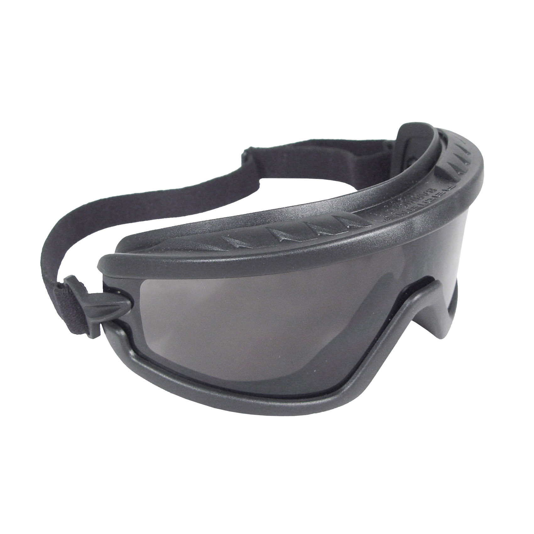 Radians® Barricade™ BG1-11 Indirect Vent Protective Goggles, Anti-Fog Clear Polycarbonate Lens, 99.9 % UV Protection, Elastic Strap, ANSI Z87.1+