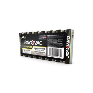 Rayovac® ALAA-8J Ultra Pro™ Battery, Alkaline, 1.5 VDC V Nominal, AA