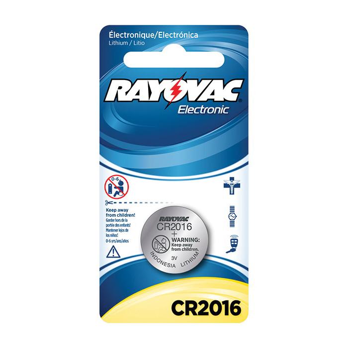 Rayovac®KECR2016-1