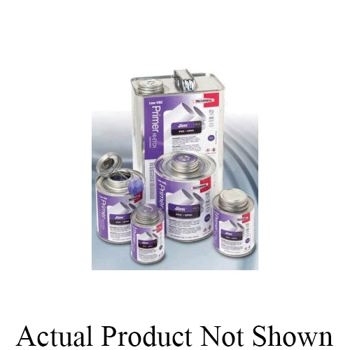 RectorSeal® Jim™ PR-1L 55918 Hi¿¿Etch Low VOC Primer, For Use With PVC and CPVC Pipe, Tubing and Socket Type Fittings, Purple, 1 qt Container