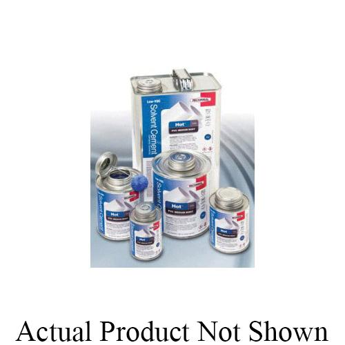 RectorSeal® Hot™ 203L 55993 Low VOC Medium Body Solvent Cement, 1 qt Container, Blue